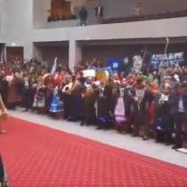 Histórico trawün en el Congreso: mapuche se hicieron escuchar en el salón plenario