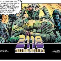 """La Patogallina lanza cómic y banda sonora de """"2118. Tragedia Futurista"""" en Centro GAM"""