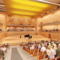 Sala de conciertos en Santiago tendrá una de las mejores acústicas del país