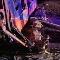 Tragedia en el norte: 6 muertos deja volcamiento de bus con trabajadores contratistas de la minera Collahuasi