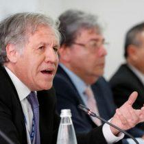 Almagro carga contra Maduro y las declaraciones de Bachelet en su favor
