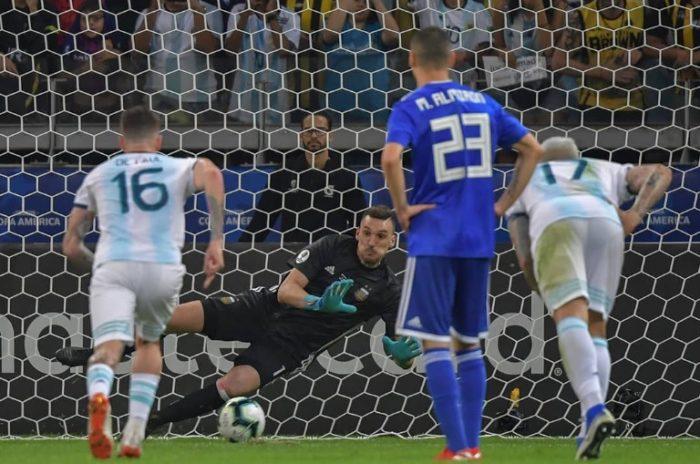Argentina empató con Paraguay y complicó su clasificación a la ronda final de la Copa América