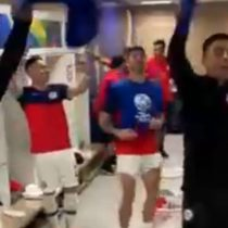 ¡C-H-I! La eufórica celebración de la selección chilena tras derrotar en penales a Colombia