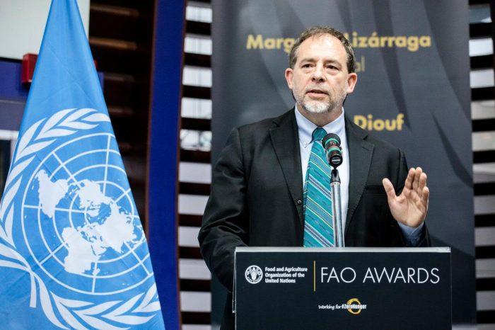 FAO Awards: Girardi recibió reconocimiento internacional por la Ley de Etiquetado