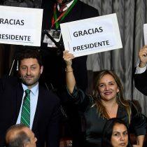 Puros aplausos: los elogios del oficialismo a la Cuenta Pública de Piñera