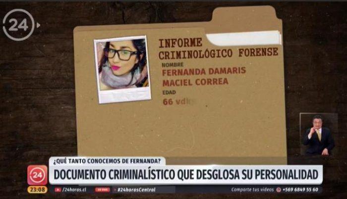TVN pide disculpas tras repudio por exponer informe psicológico de Fernanda Maciel
