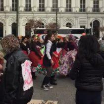 Apoderados del Liceo Experimental Artístico se manifestaron e interpusieron recurso de protección en favor de estudiantes sancionados