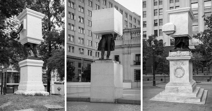 """Exposición """"Monumento Editado"""", una reflexión sobre historia latinoamericana moderna y la memoria colectiva"""