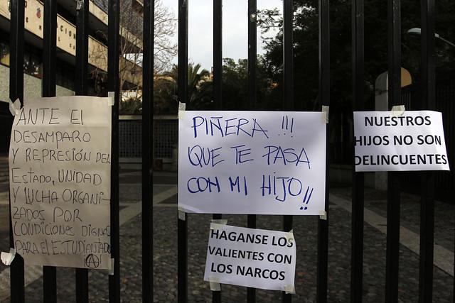 """Unicef por violencia en el Instituto Nacional: los liceos """"deben ser espacios en los que se proteja la dignidad de los estudiantes"""""""