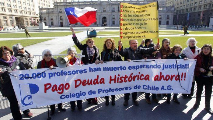 Profesores inician este lunes paro nacional indefinido acusando