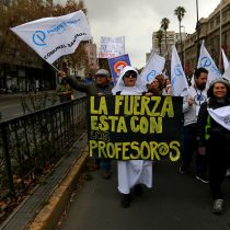"""""""Este es un mensaje al Gobierno"""": profesores rechazan propuesta del Mineduc y continuarán paro"""