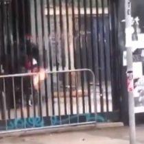 Enfrentamientos entre Carabineros y estudiantes marcan una nueva jornada en el Instituto Nacional