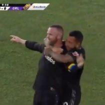 El niño malcriado lo hizo otra vez: Wayne Rooney se despachó un golazo de más de 65 metros