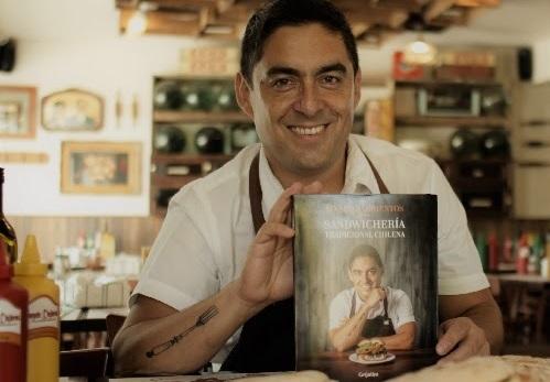 Reconocido chef publica libro donde rinde tributo al sándwich chileno