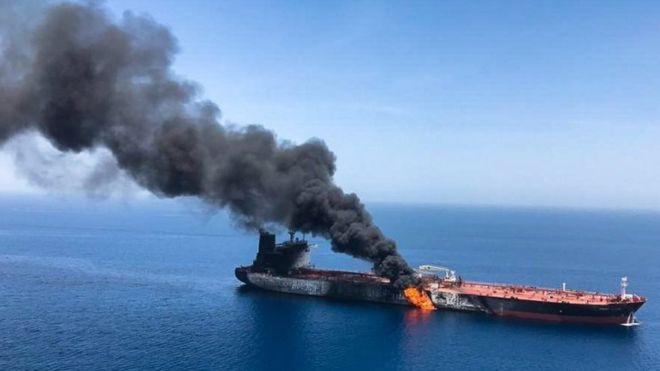 Estrecho de Ormuz: el firme rechazo de Irán a las acusaciones de Estados Unidos sobre las explosiones en dos petroleros