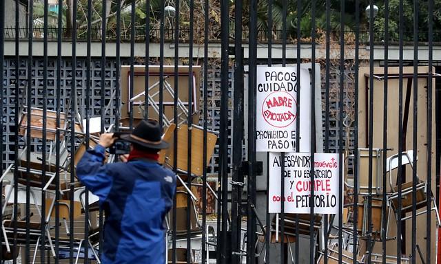 Instituto Nacional en toma: reunión entre estudiantes y autoridades no llega a buen puerto