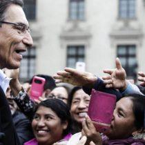 Congreso peruano da voto de confianza a Vizcarra para sacar adelante sus reformas anticorrupción