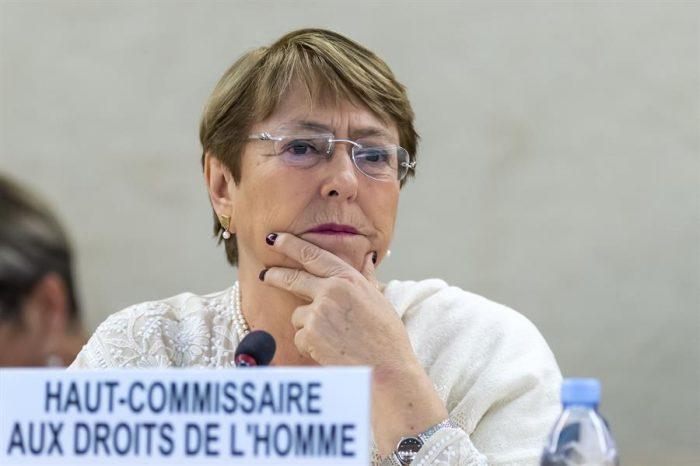 Bachelet le envía un mensaje a Maduro tras el informe de la ONU: