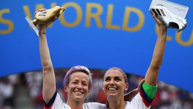 Mundial Femenino Francia 2019: Estados Unidos bate 2-0 a Holanda y gana su cuarta copa
