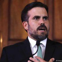 Puerto Rico: gobernador renuncia a reelección en medio de crisis política