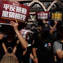 Nueva marcha multitudinaria contra el gobierno de Hong Kong
