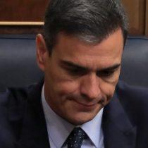 Sólo el PSOE votó por él: Pedro Sánchez pierde primera votación de investidura en España
