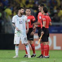 Messi explota contra el arbitraje tras la eliminación de Argentina:
