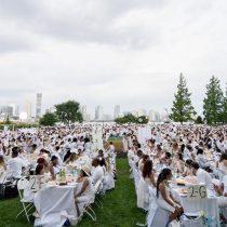 Miles de comidistas se dan cita en la cena