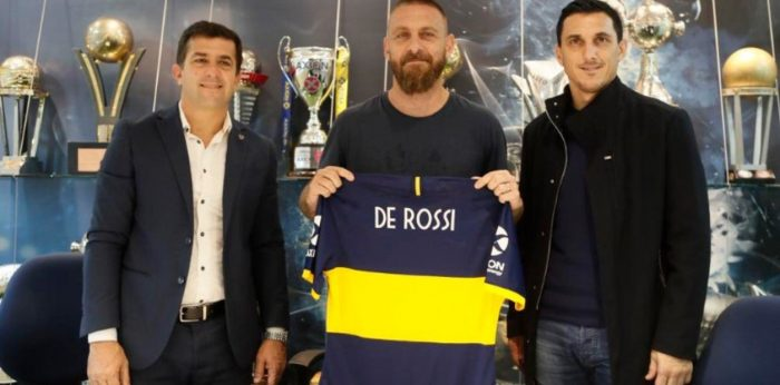 El fichaje bombástico de Boca Juniors: llega a Argentina el italiano Daniele de Rossi, campeón del mundo