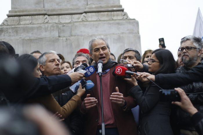 Paro docente: Mineduc cede a medias y Mario Aguilar llama a deponer la movilización