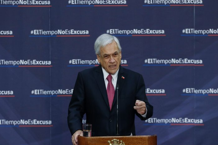 Piñera defiende decreto para que las FFAA combatan el narcotráfico en la frontera
