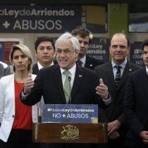 De un matinal a La Moneda: Piñera presenta iniciativa que modifica la Ley de Arriendo