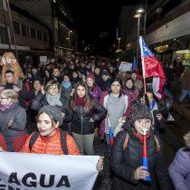 Osorninos salen a las calles para exigir la restitución del servicio de agua
