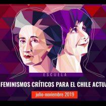 """""""Feminismos Críticos para el Chile Actual"""": la nueva escuela que reabre el debate de la lucha feminista"""