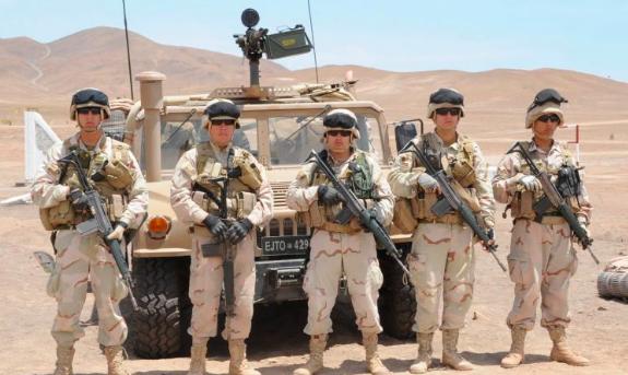 Militares y narcotráfico en La Frontera norte