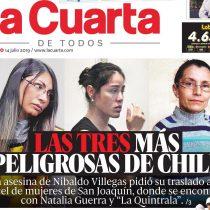 """""""Podrían haber hecho portada con los 36 hombres femicidas"""": las críticas que desató la polémica portada de La Cuarta"""