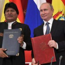 Senador Chahuán llama a estar alerta por eventual acuerdo entre Morales y Putin para construir planta nuclear en Bolivia