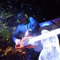 Artistas realizarán esculturas de hielo en vivo en Patio Bellavista