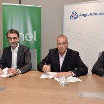 Enel Generación y Anglo American firman contrato de energía renovable por 3TWh