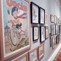 Coleccionistas abren al público muestra de comics de un siglo: