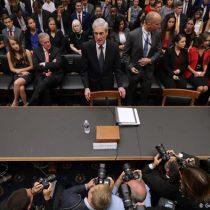 Mueller dice en el Congreso de EEUU que Trump