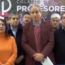"""""""No podemos mandar a la gente a una carnicería"""": Aguilar apela al """"desgaste"""" para justificar el llamado a deponer el paro docente"""