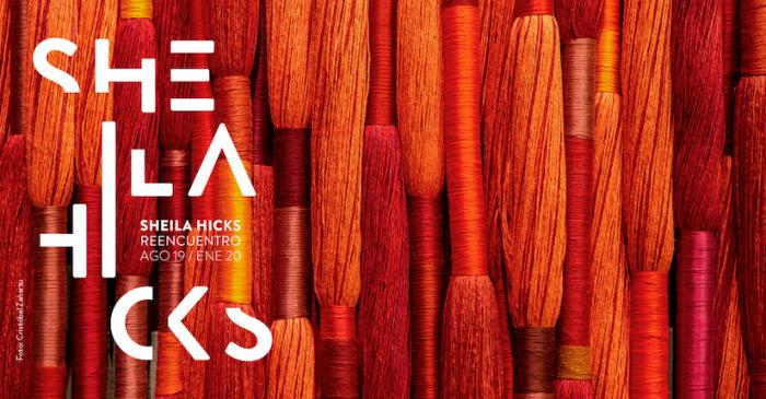 """Exposición de la importante artista textil Sheila Hicks """"Reencuentro"""" en Museo Precolombino"""