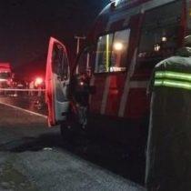 Seis muertos y cerca de cuarenta heridos deja accidente de bus en la Ruta 5 Sur