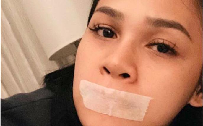 Buteyko: ¿por qué esta mujer duerme con la boca tapada con una cinta adhesiva?