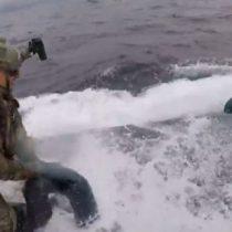 La espectacular captura de un narcosubmarino cargado con más de 7 toneladas de cocaína
