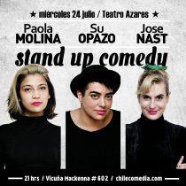 Las ansiedades de ser adulta, la invisibilidad lésbica y las contradicciones de una feminista llegan al escenario de Teatro azares en un show de Stand Up