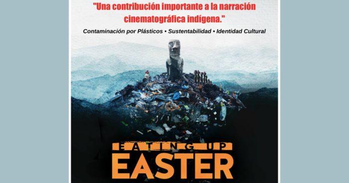Devorándose a Isla de Pascua: filme registra las montañas de plástico que hunden a los moais en Rapa Nui