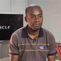 La historia detrás del haitiano que protagoniza el cortometraje