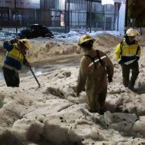 Una inusual granizada cubre de hielo la ciudad mexicana de Guadalajara